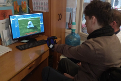 Разработка кисти реабилитационной перчаткой Аника